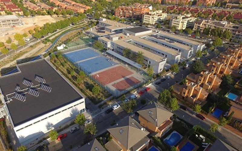 Colegio Antamira Instalaciones deportivas