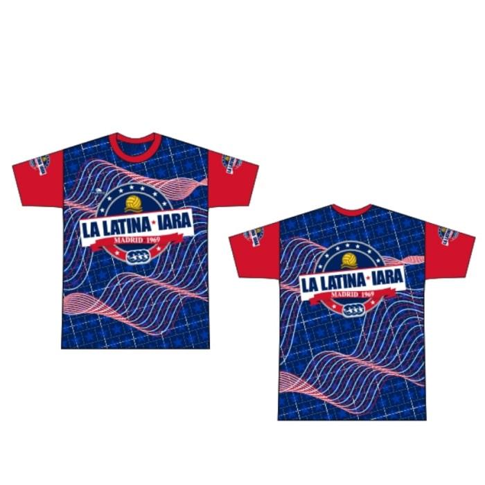 Camiseta IARA La Latina logo grande