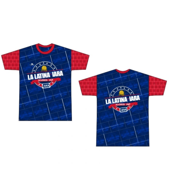 Camiseta IARA La Latina logo grande mod 2