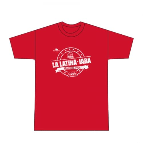 Camiseta IARA La Latina roja