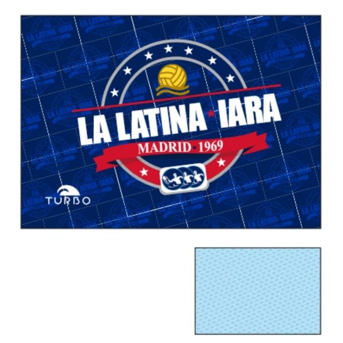 Toalla IARA La Latina azul
