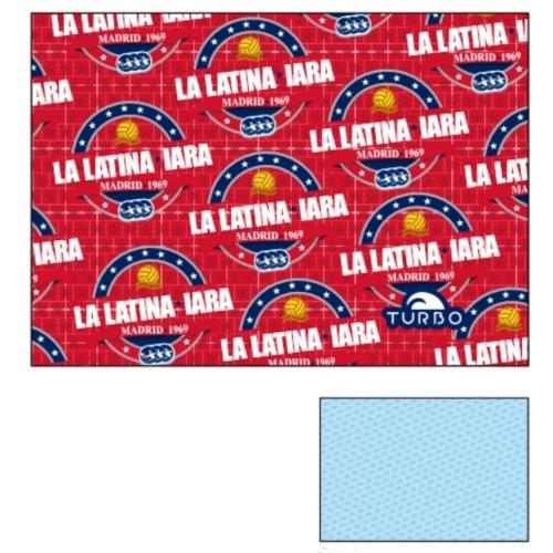Toalla IARA La Latina roja