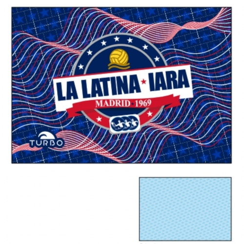Toalla IARA La Latina rojos azul